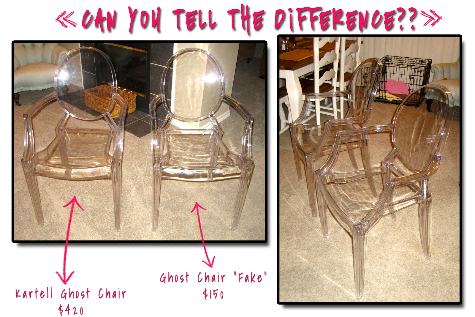 Charmant THE Ghost Chair